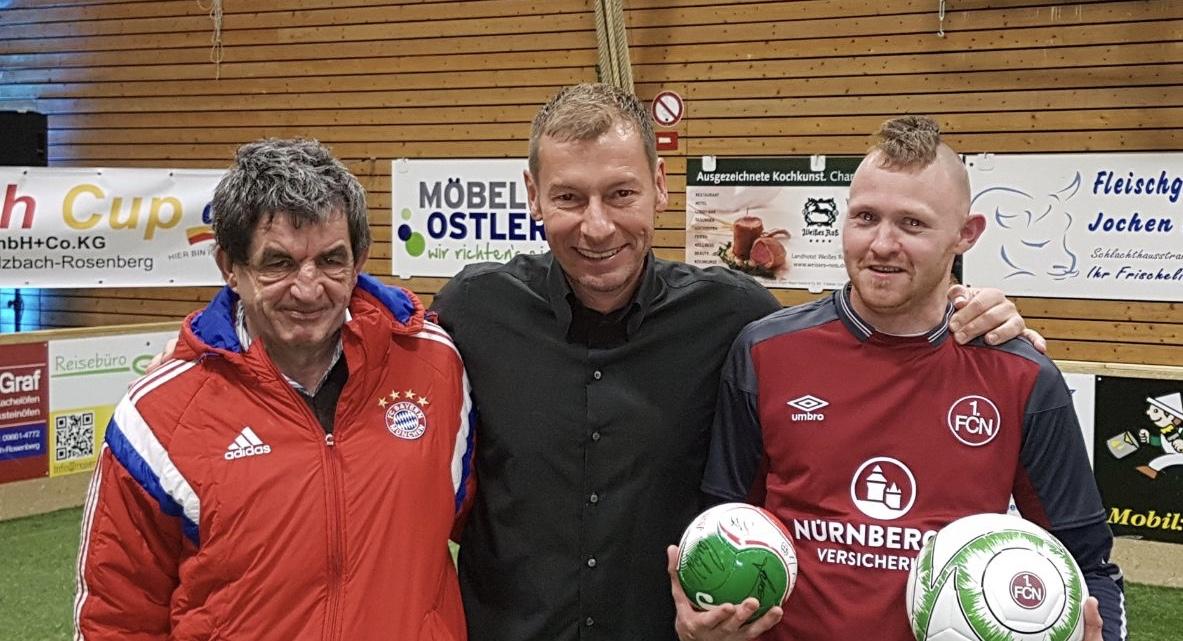 Möbel Ostler la treff trifft legenden bei hallenmasters in sulzbach