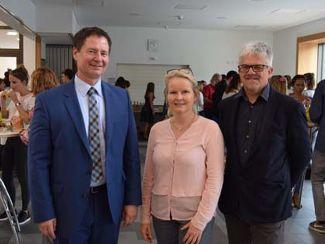Oberbürgermeister Thomas Thumann besuchte neue Fachschule