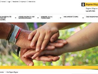 Homepage im neuen Look
