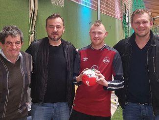 LA-Treff trifft Club Legenden bei Hallenmasters in Sulzbach Rosenberg