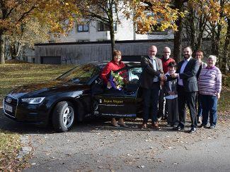 Großzügige Weihnachtsaktion der Audi Mitarbeiter