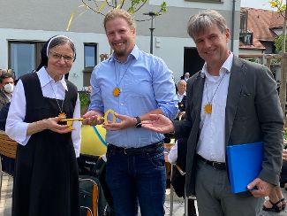Segnung des Neubaus für Ordensschwestern und Menschen mit Behinderung stand unter dem Motto